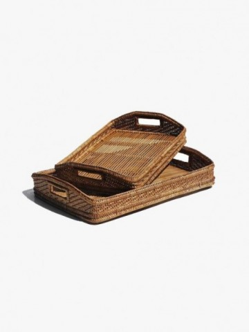 RATTAN LARGE OVAL PLACEMAT