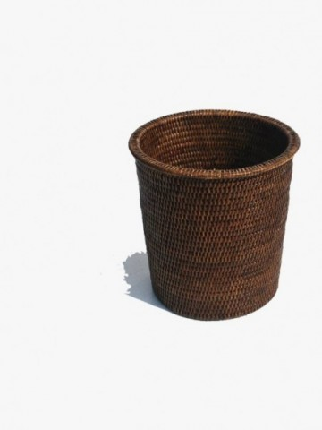 RATTAN MEDIUM RATTAN WALL HANGING BASKET