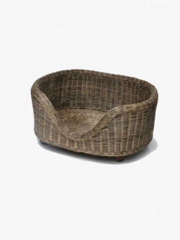 RATTAN LARGE STORAGE BOX WITH LID