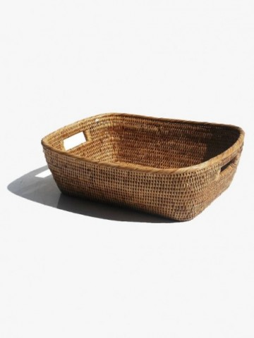 RATTAN SMALL FILE HOLDER