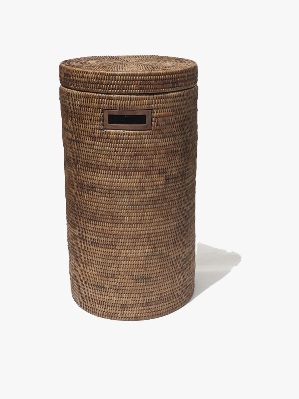 RATTAN RUSSIA LARGE STORAGE BOX WITH INSERT COMPARTMENTS
