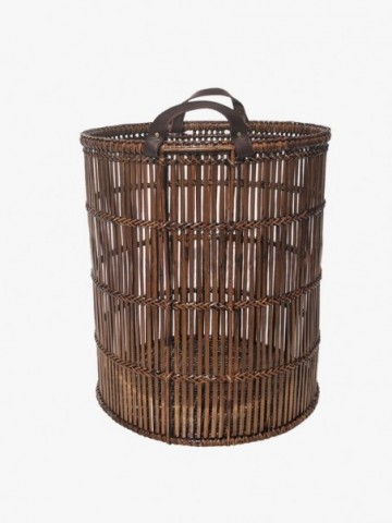 RATTAN STORAGE  BOX WITH LID(HANDLE LIKE G811 (INSIDE HANDLES)