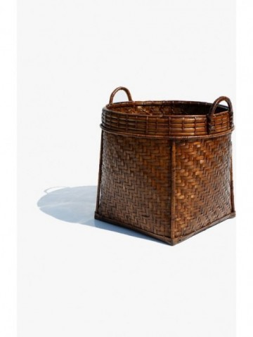 RATTAN SQUARE UMBRELLA BASKET