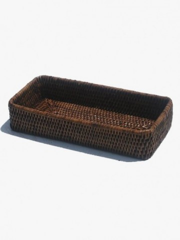 RATTAN TOY CARRY STORAGE BOX