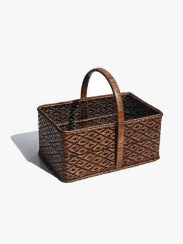 SQUARE RATTAN DRINKS TRAY